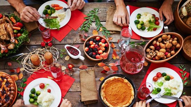 mesa fiestas